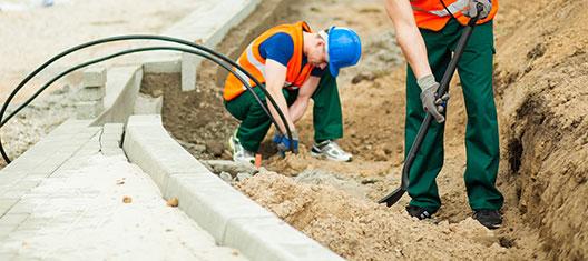 grondkabel aanleggen